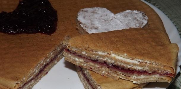 Супербыстрый блинный тортик