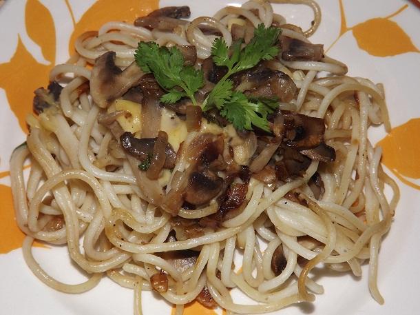 Паста с грибами пошаговый рецепт с фото