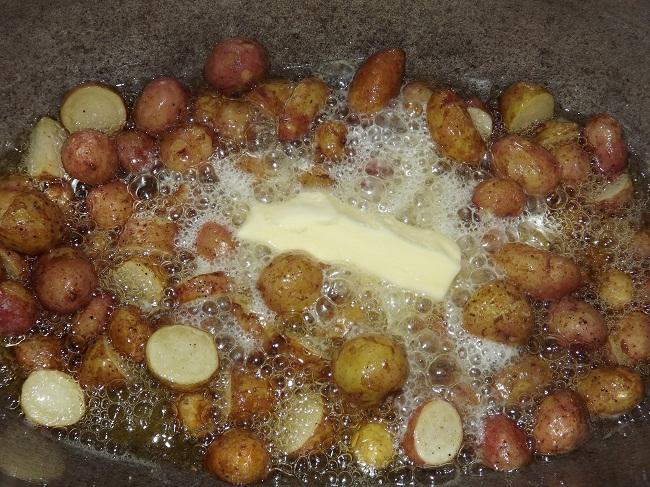 лучший рецепт молодой картошки