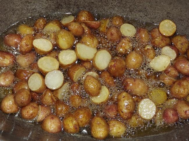 жареная молодая картошка рецепт