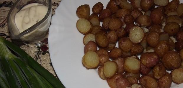 Мелкая молодая картошка-фри