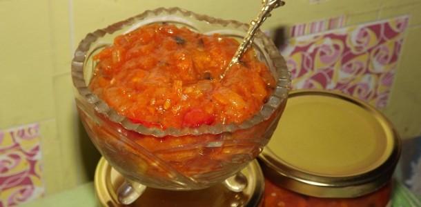 Соус маринара, рецепт с фото на зиму