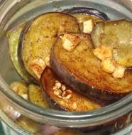 Жареные маринованные баклажаны