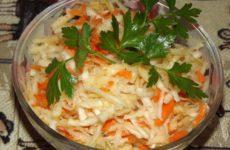 Салат с капустой кольраби, рецепт с фото