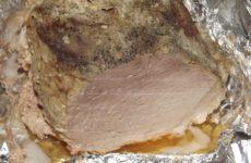 Буженина по-домашнему из свинины в фольге в духовке