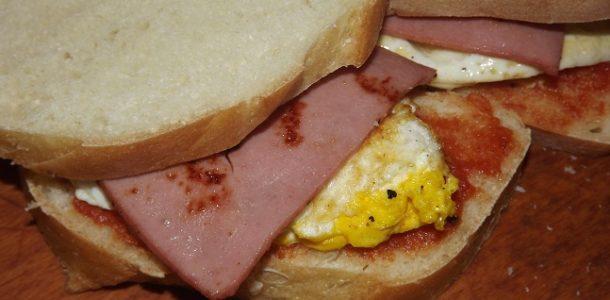 Бутерброды в школу рецепт с фото