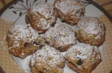 Постное печенье из овсяных хлопьев, рецепт