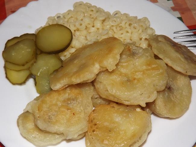 Постный рецепт с грибами