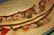 Тортилья из кукурузной муки, рецепт