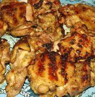 Шашлык из курицы с луком, рецепт
