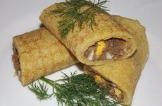 Блинчики с печенью рецепт с фото пошагово