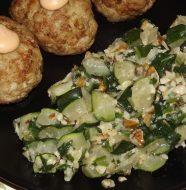 Салат из кабачков, рецепт, быстро и вкусно, с фото
