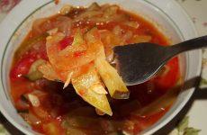 Заготовка из кабачков на зиму, рецепт с фото пошагово