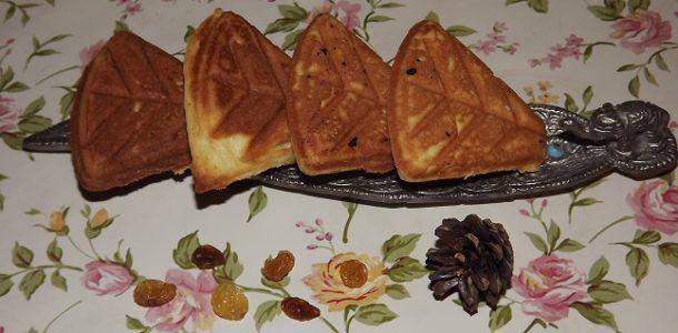 Печенье в советской форме на газу