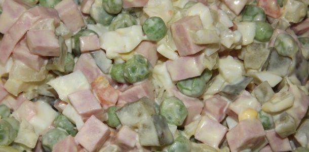 Салат оливье при диабете 2 типа