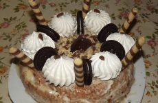 Торт на детский день рождения, рецепт с фото