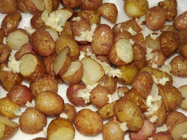 как готовить картошку горох