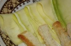 Быстро маринованные кабачки с медом