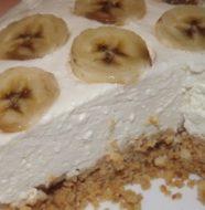 Чизкейк без выпечки с творогом и печеньем, рецепт с фото