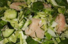 Салат из свежей капусты, рецепт с фото пошагово