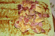 Бутерброд из лаваша, простой рецепт