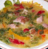Гороховый суп с копчеными ребрышками, рецепт с фото пошагово